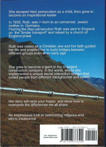 back cover Lady Ruth Bromfield by Gordon Smith