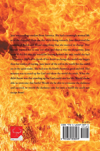 back cover Demons Cannot Stand by Lynelle Skaggs