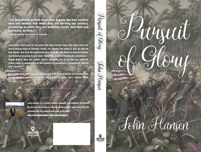 full cover pursuit of glory by John Hansen