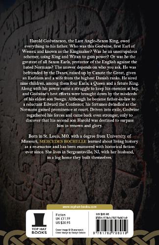 Back Cover Godwine Kingmaker - The Last Great Saxon Earls 1 by Mercedes Rochelle