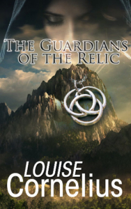 Front cover the Guardian of the Relic by Louise Cornelius