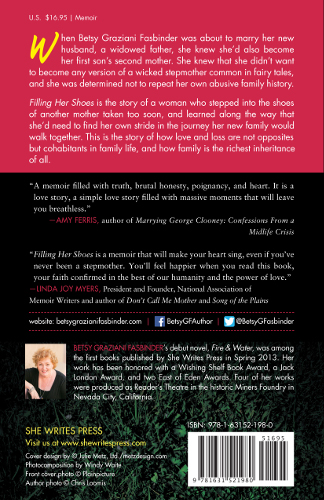 back cover FILLING HER SHOES by Btesy Graziani Fasbinder_