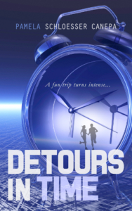(scifi) front cover detours in time by pamela schloesser canepa