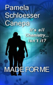 (romance, scifi) front cover made for me by pamela schloesser canepa