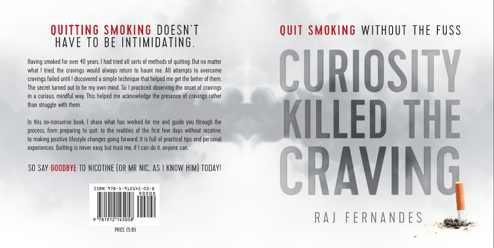 full cover Curiosity Killed the Craving - quit smoking without the fuss by Raj Fernandes