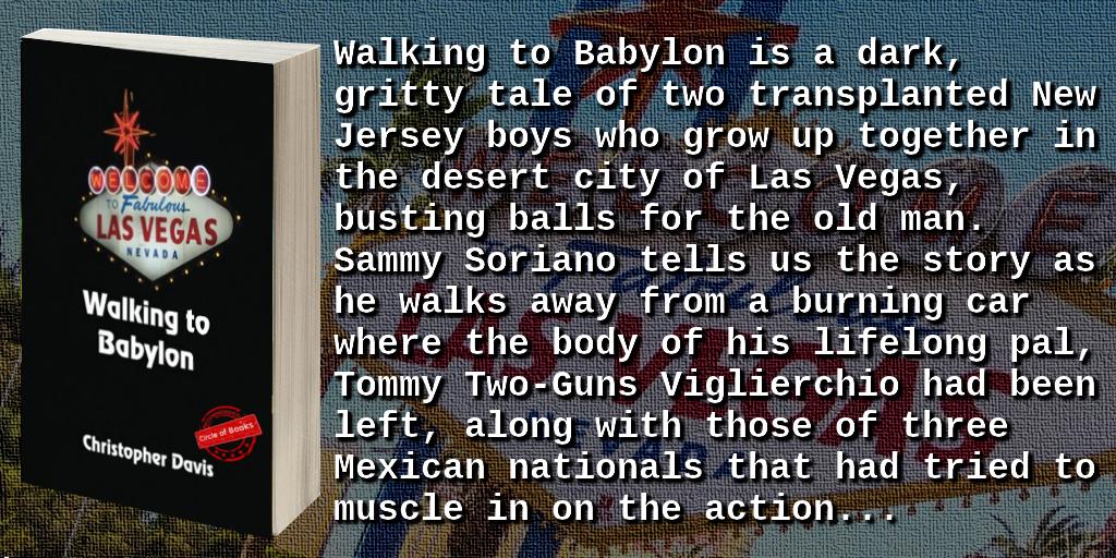 tweet Walking to Babylon by Christopher Davis