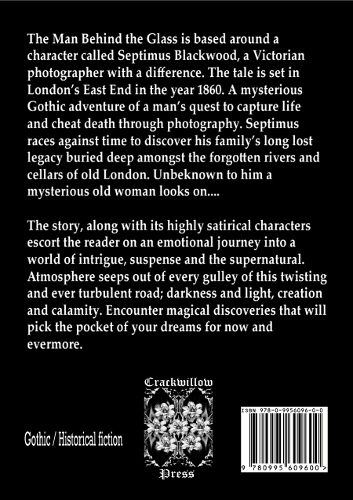 Back cover of The Man Behind the Glass by Greg Howes