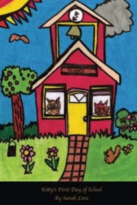 front cover kittys first day at school by Sarah Linx