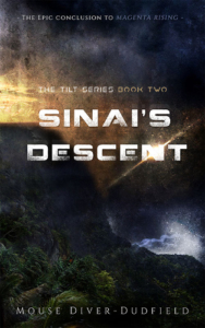 Front cover Sinais descent- The Tilt Series Book two by Mouse Diver-Dudfield