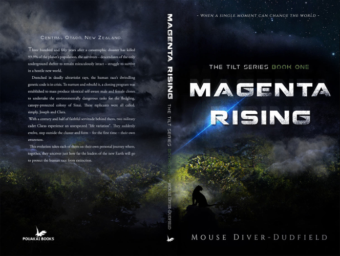 Full cover Magenta Rising - The Tilt Series Book one by Mouse Diver-Dudfield
