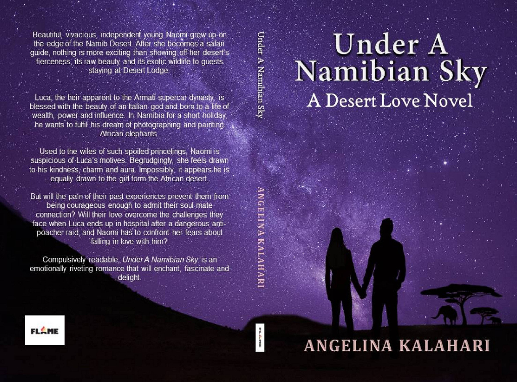 Under A namibian Sky by Angelina Kalahari full cover