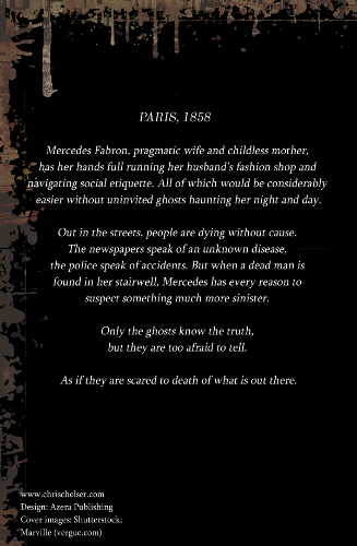 back cover The Devourer by Chris Chelser