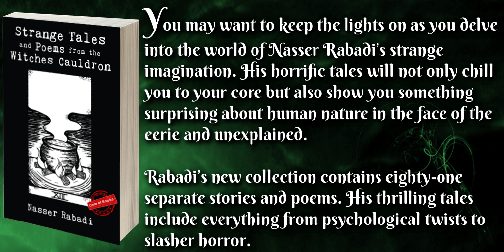 tweet Strange Tales and Poems from the Witches Cauldron by Nasser Rabadi
