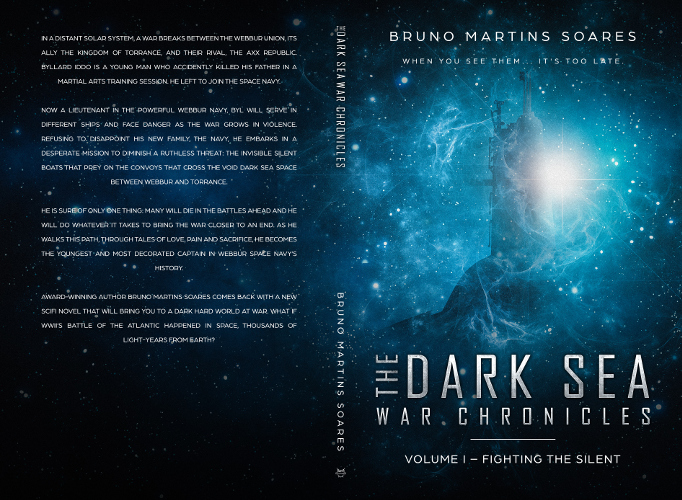 full cover fighting the silent - the dark sea war chronicles vol 1 by Bruno Martins Soares_