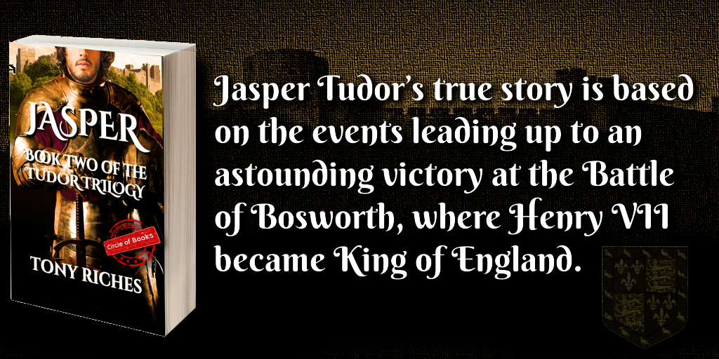 _-tweet-_ Jasper - book two of the tudor trilogy by tony riches