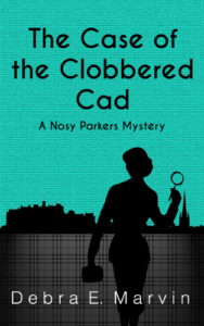 front cover The Case of the Clobbered Cad by Debra e Marvin