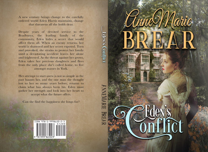 full cover edens conflict by AnneMarie Brear
