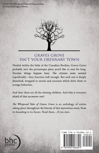 Back Cover The Whispered Tales of Graves Grove