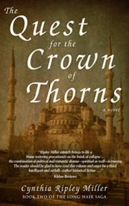 front cover Quest for the Crown of Thorns by Cynthia Rippley Miller