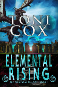 front cover Elemental Rising by Toni Cox