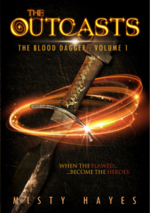 front cover The OutCasts by Misty Hayes