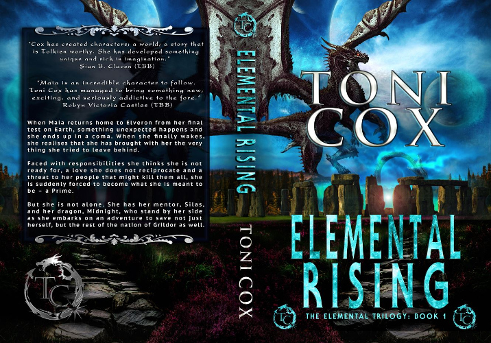 full cover Elemental Rising by Toni Cox