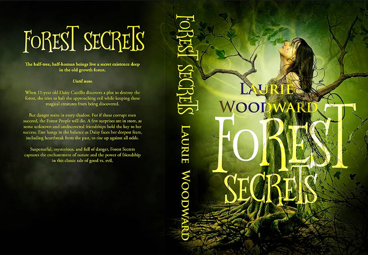 full cover Forest Secrests by Laurie Woodward