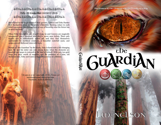full cover The Guardian by LM Nelson