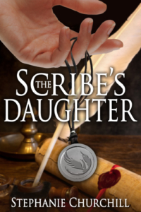 front cover The Scribe Daughter by Stephanie Churchill